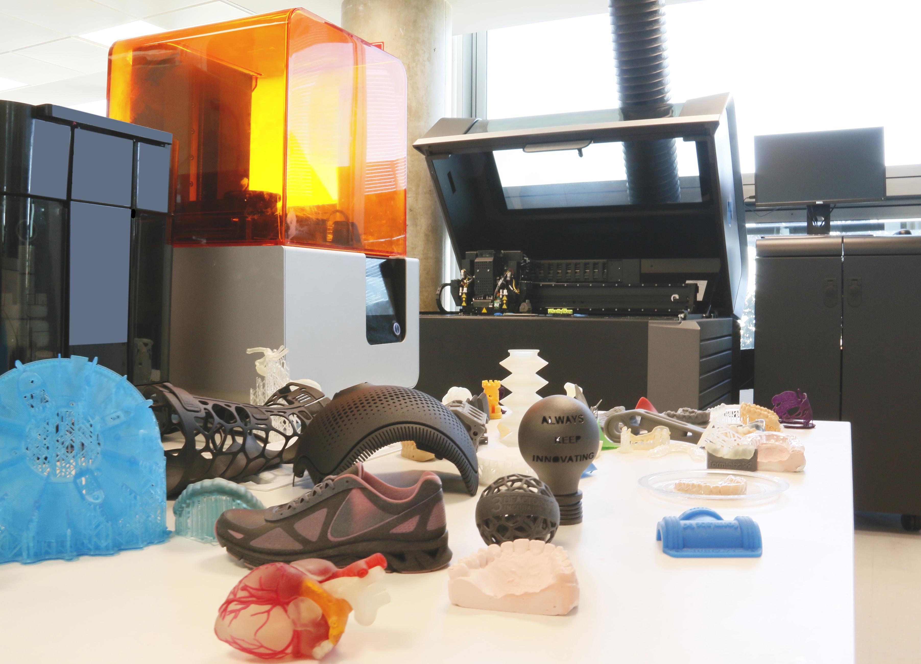 objetos fabricados con ·d factory