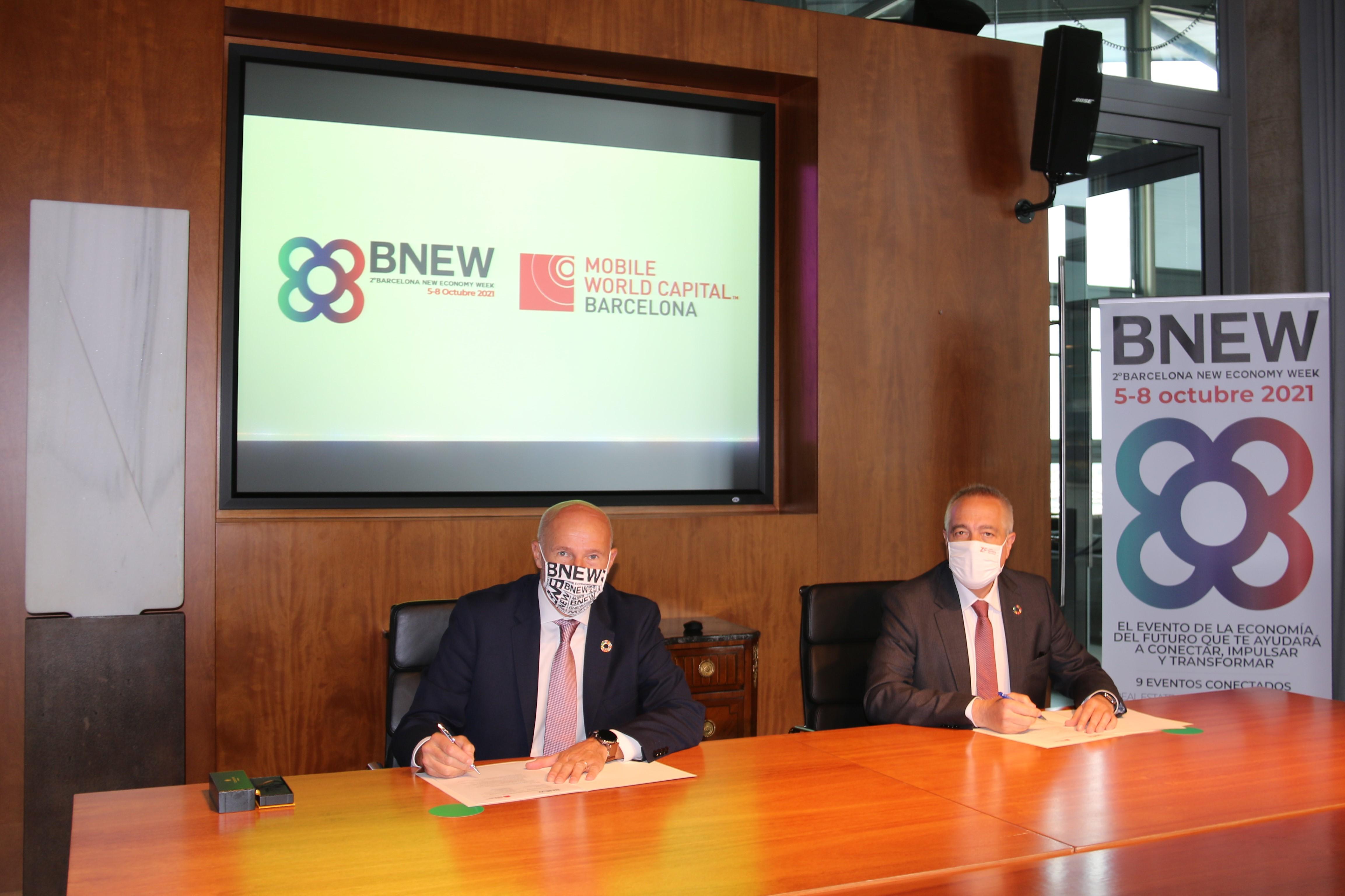 Mobile World Capital Barcelona refuerza su compromiso con la segunda edición de BNEW
