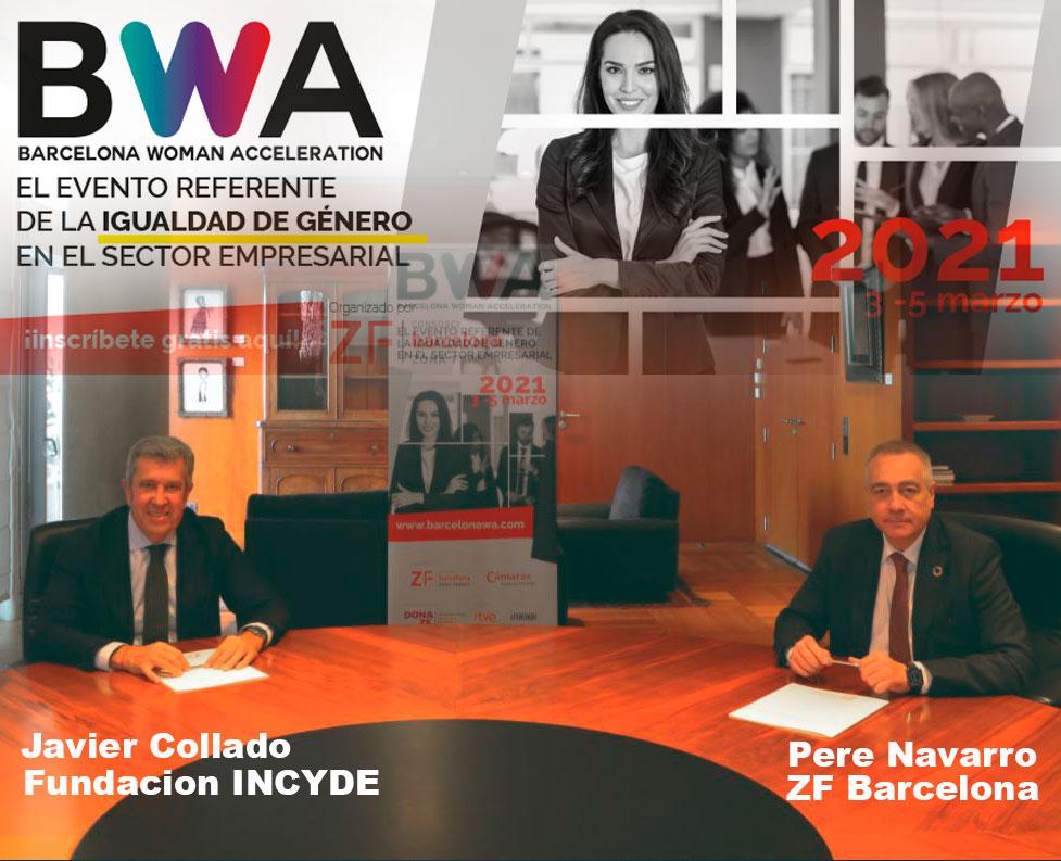 La Zona Franca de Barcelona y la Fundación Incyde se alían para crear el Barcelona Woman Acceleration (BWA)