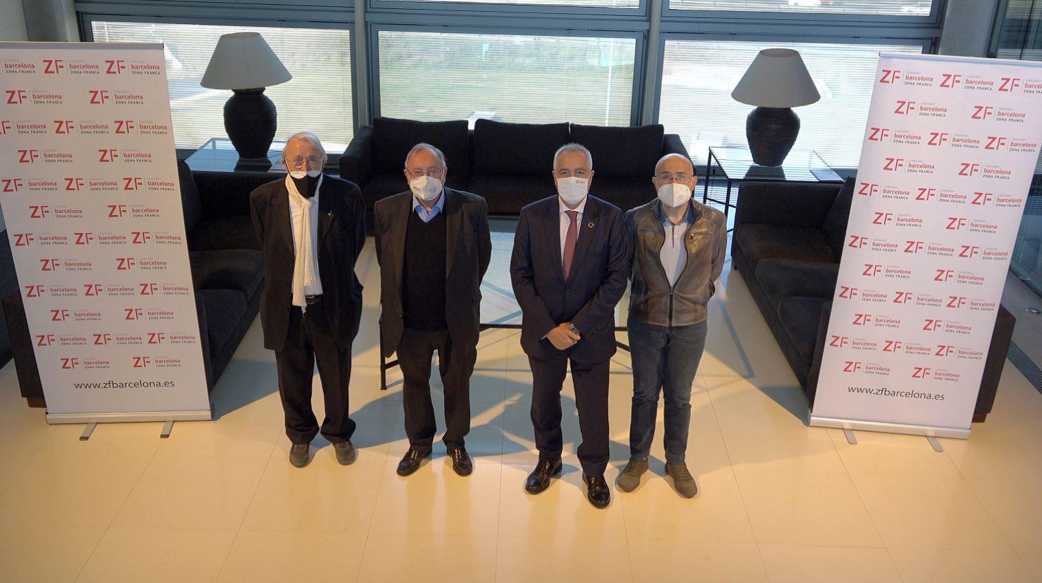 El Consorci de la Zona Franca de Barcelona, Dincat y ARAPDIS se unen a las becas de la Fundación Incyde