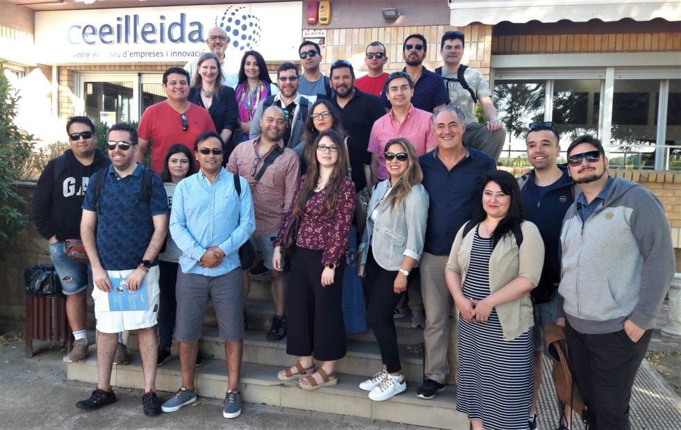 universitaris xilens visiten el ceeilleida