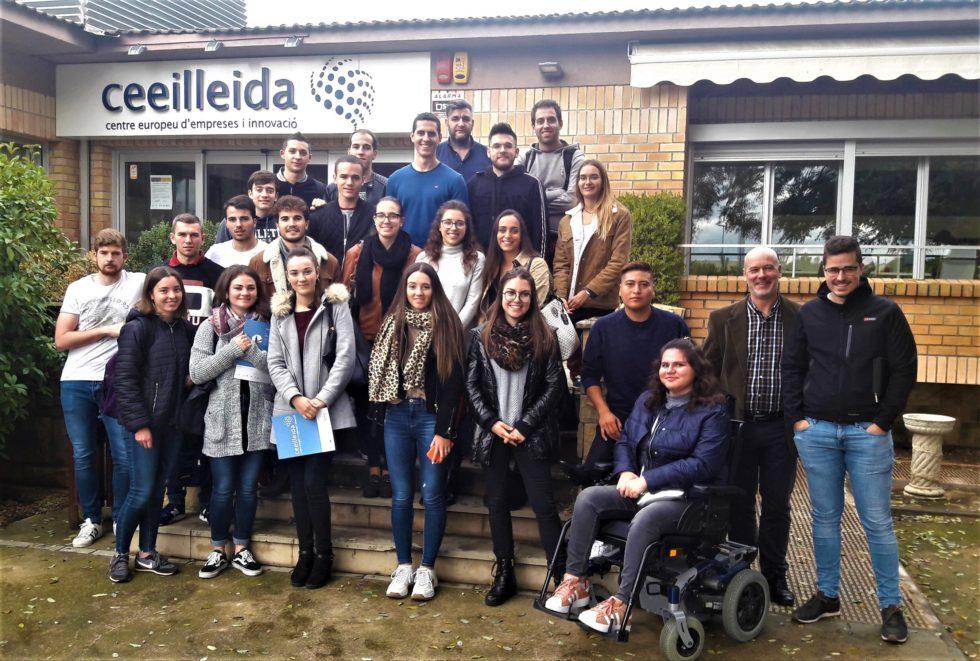 el ceeilleida rep la visita de 60 estudiants en cinc dies