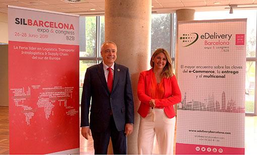la digitalización y la sostenibilidad aspectos claves del sil 2019 y edelivery barcelona