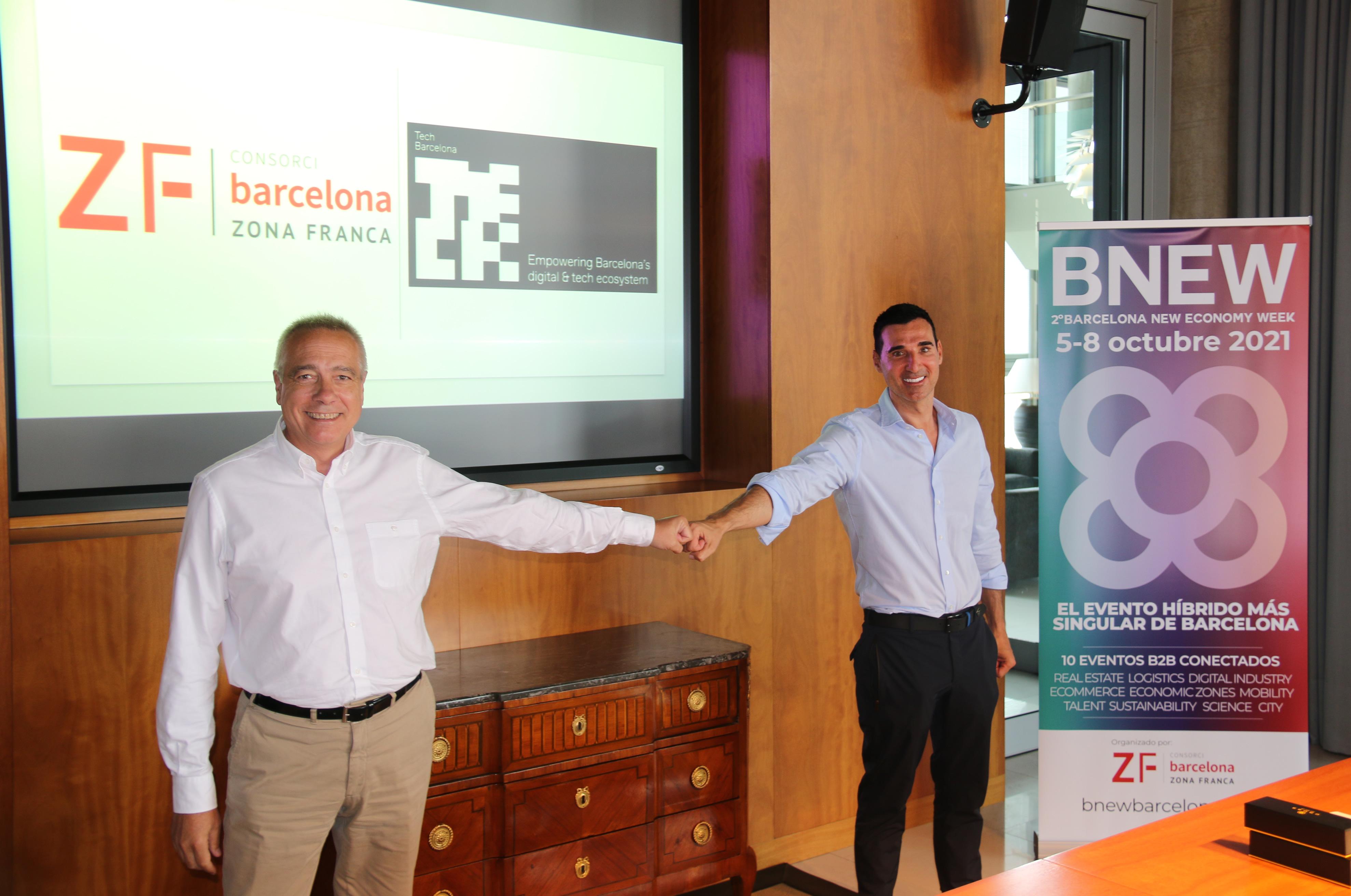 Tech Barcelona muestra su tecnología en el marco del  BNEW
