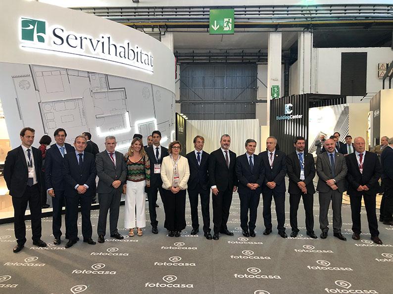 El Secretario de Estado de  Vivienda del Ministerio de fomento, Pedro Saura, inaugura BMP 2019