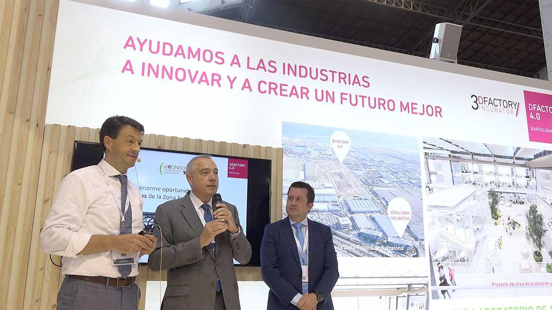 el consorci empieza la promoción de la incubadora de impresión 3d europea y el hub dfactory de la zona franca