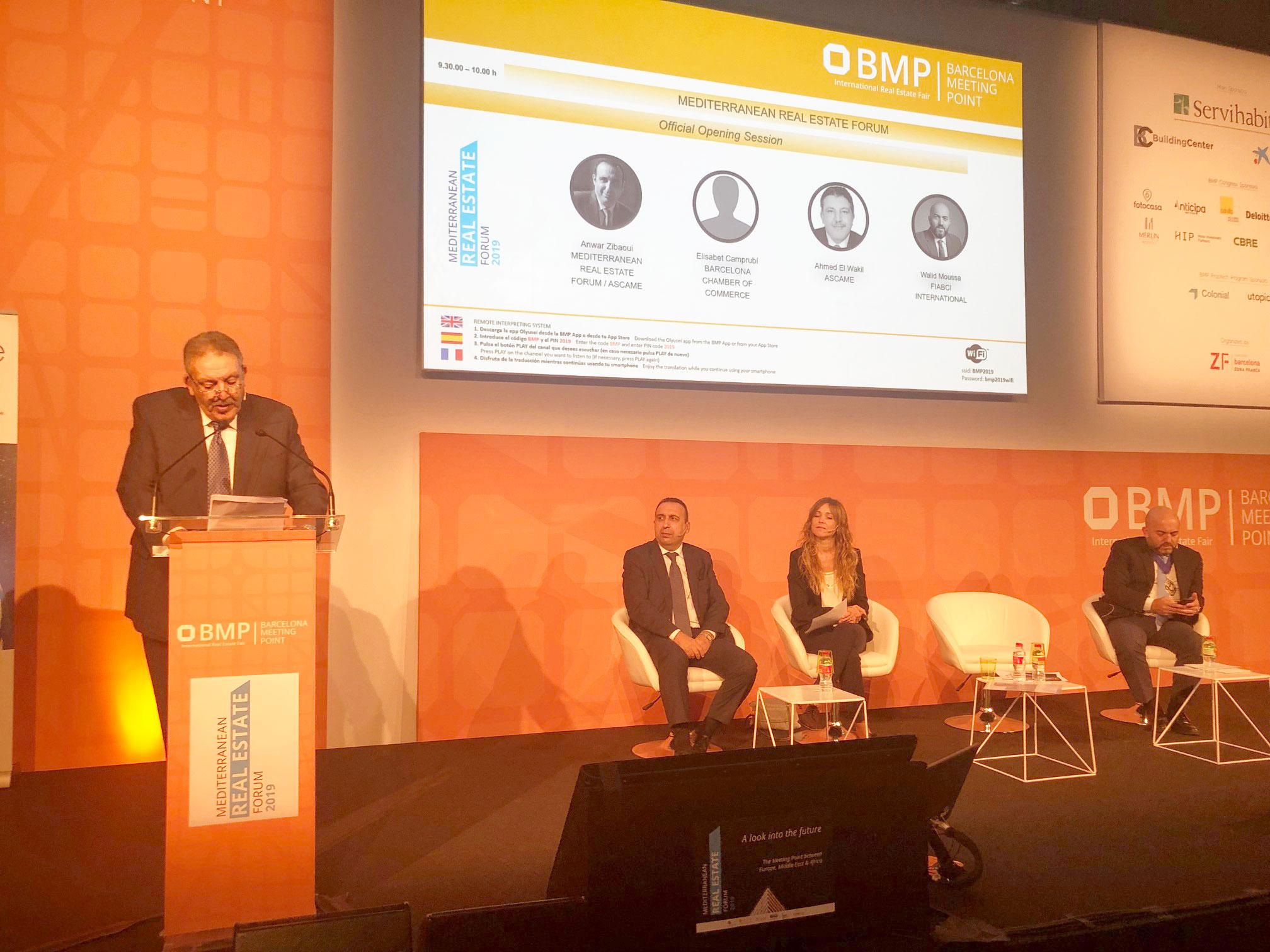 se celebra la primera edición del mediterranean real estate forum en el marco de bmp 2019