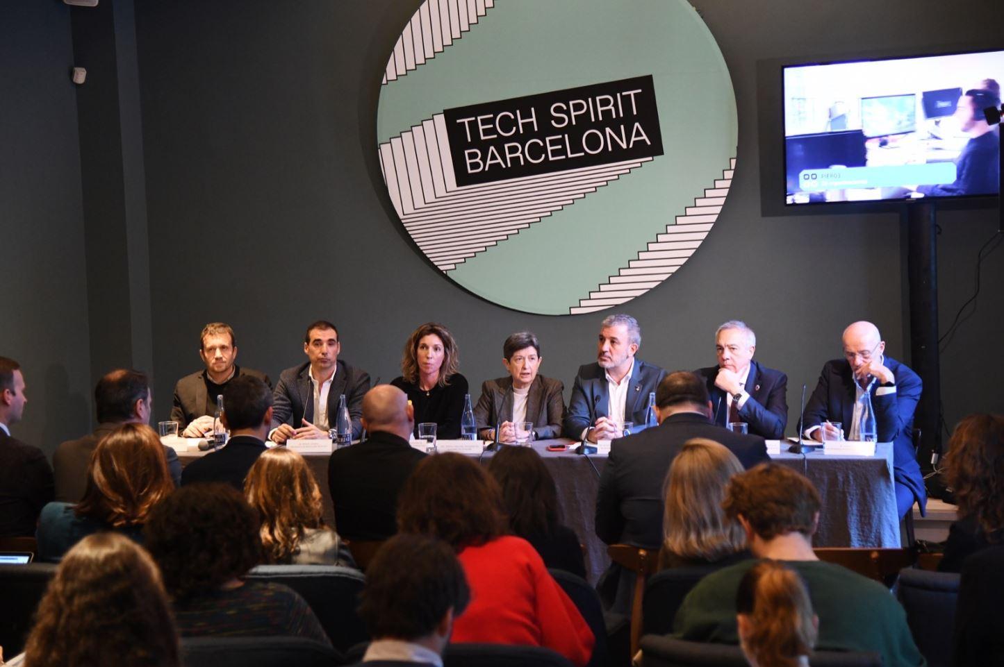presentación de tech spirit barcelona