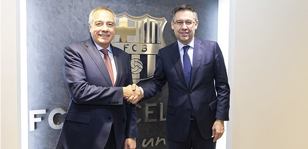 el consorcio de la zona franca firma un convenio con el fc barccelona para la promoción de la ciudad de barcelona