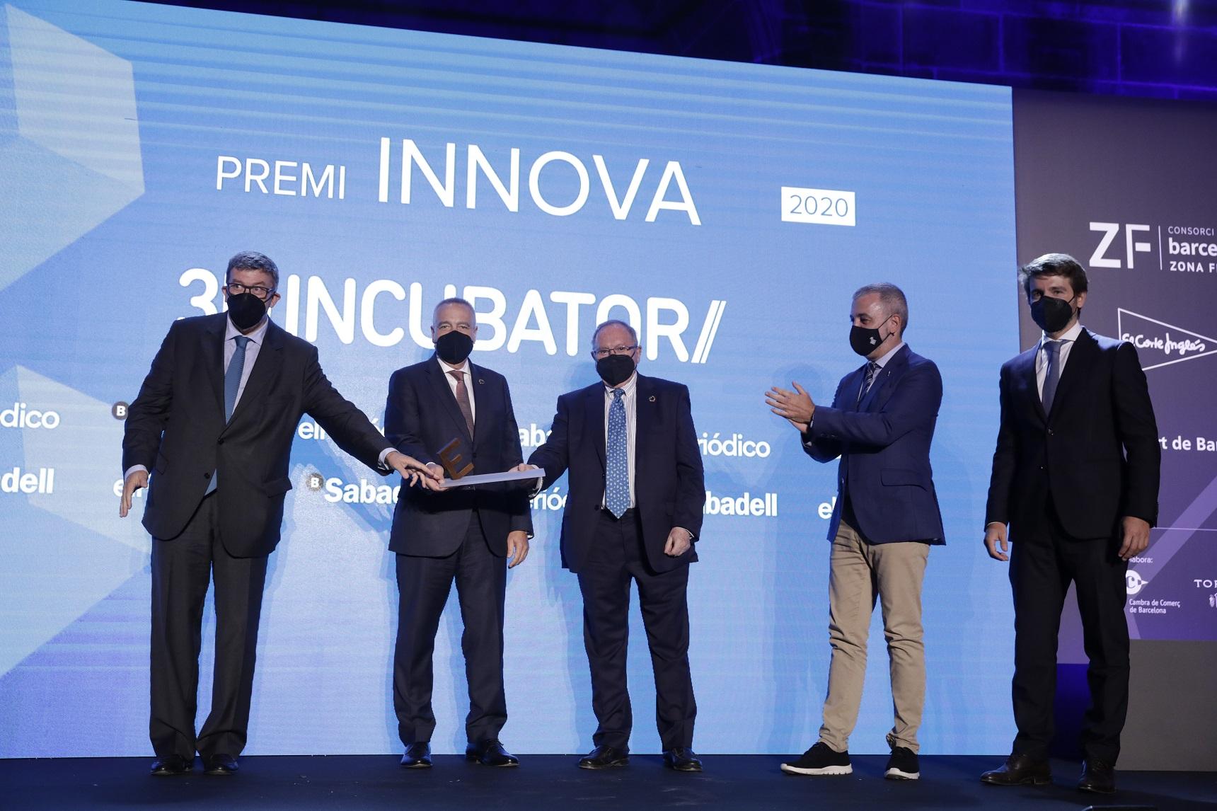 3D Incubator, reconocida en la categoría Innova de los Premios Empresa del Año 2020