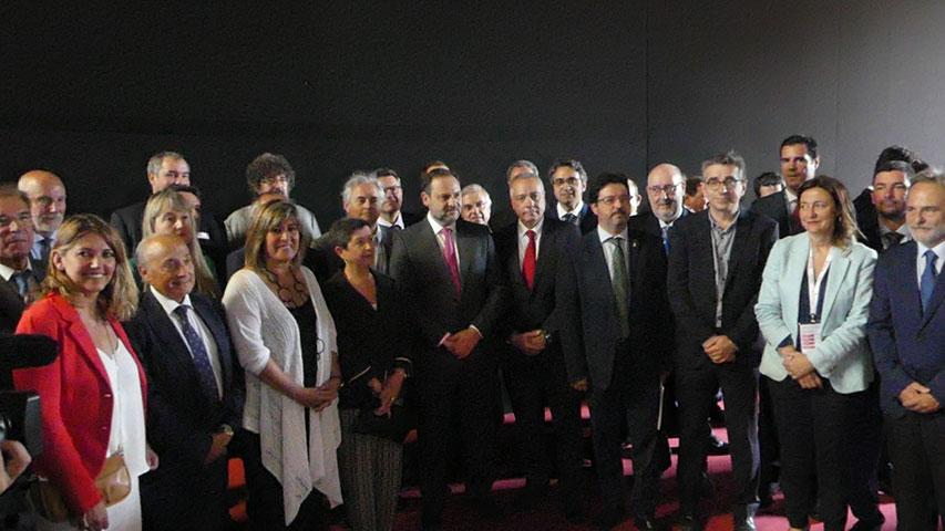 el ministro de fomento, josé luís Ábalos inaugura la xxi edición, más internacional, de la historia