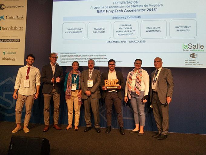 brickblock.io, premio a la mejor startup de bmp 2018