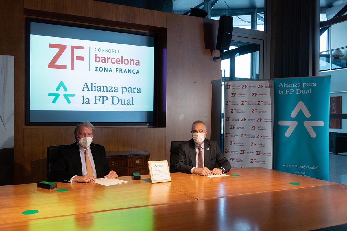 El Consorci de la Zona Franca de Barcelona se suma a la Alianza para la FP Dual