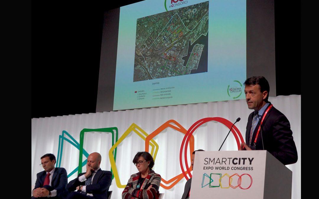 """el consorci presenta el seu projecte """"zona franca economia circular"""" en les jornades smart city"""